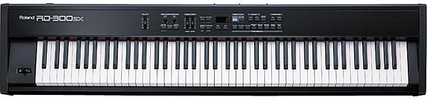 Michelle's Roland keyboard